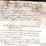 Obbligazioni e Legati Parrocchia 1638