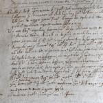 Obbligazioni e Legati Parrocchia 1662